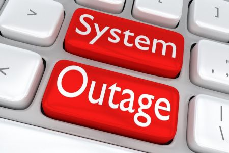 System Outage image