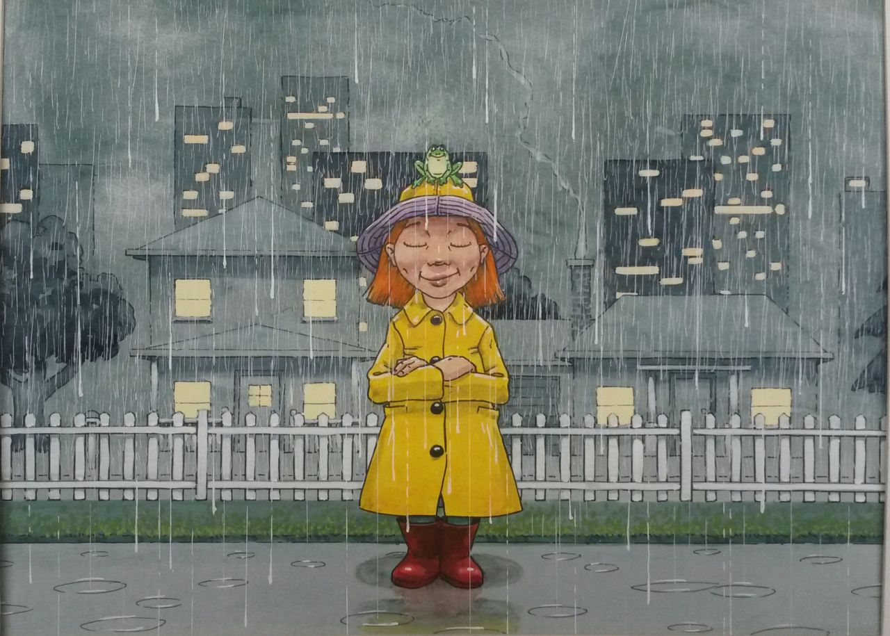 Dave Blight - And here's the rain again