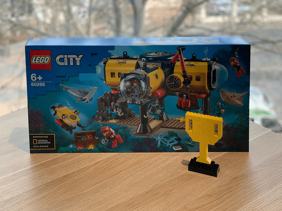 Lego Challenge prize