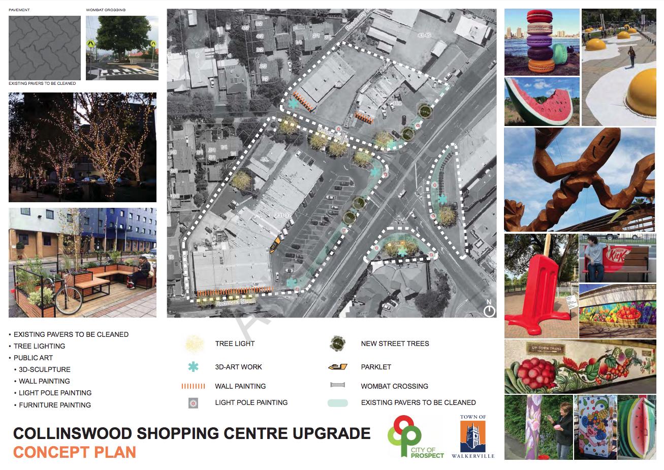 Collinswood Chopping Centre Precinct Upgrade Concept Plan