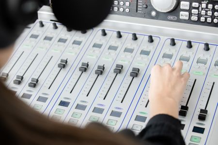 YouthFM Mixing Deck