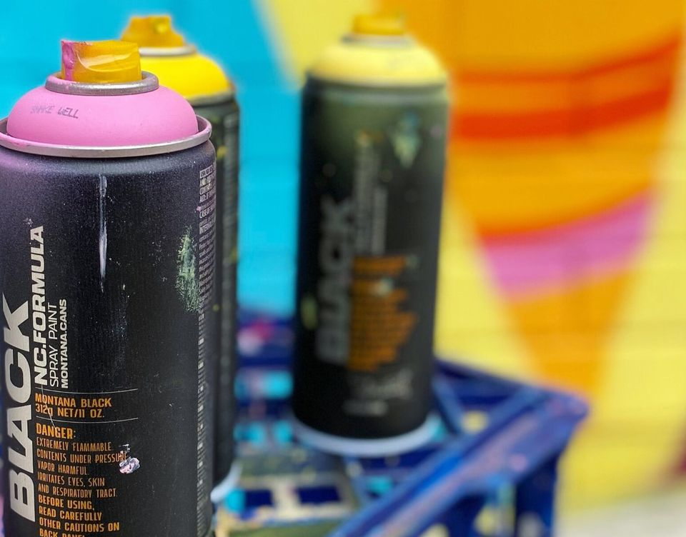 Aerosol Colour and Pattern Workshop