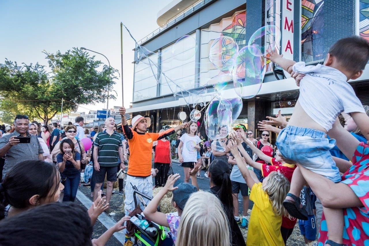 Balloon magic at Tourrific 2018