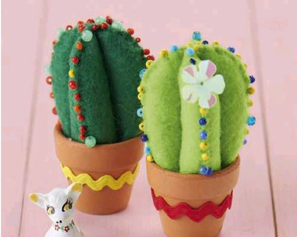 Library event - Mollie Makes a Cactus
